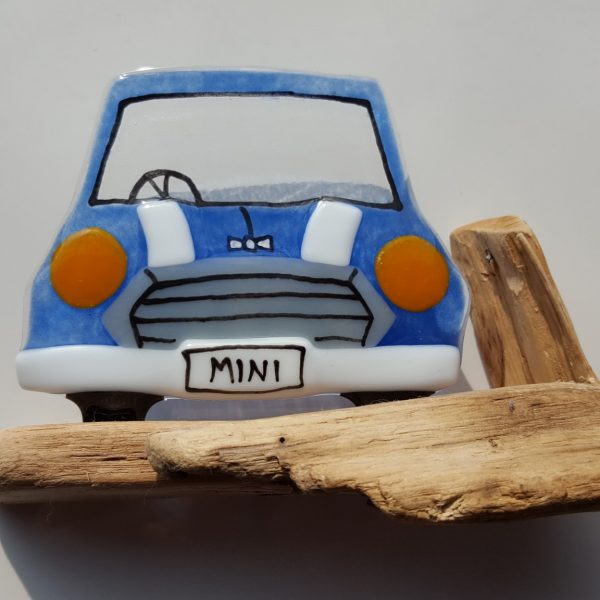 Mini in Glass Blue