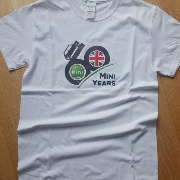 BMC 60 Mini Year T-Shirt White