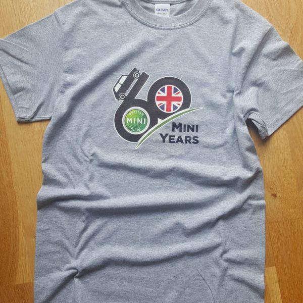BMC 60 Mini Years T-Shirt Grey