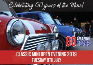 Mini Spares Midlands Open Evening