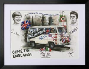 England Bus artwork